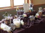 Deep Purple Candy Buffet